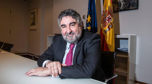 Foto de José Manuel Rodríguez Uribes, ministro de Cultura y Deporte.