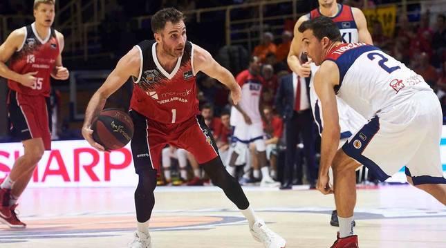 Álex Urtasun, en un partido de la pasada temporada.