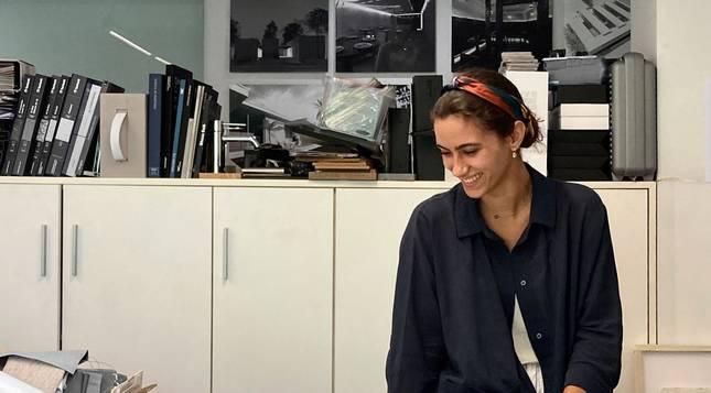 Foto de María del Carmen Bistuer, graduada en Arquitectura por la Universidad de Navarra.