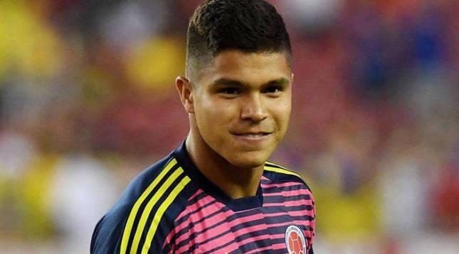 El colombiano Cucho Hernández.