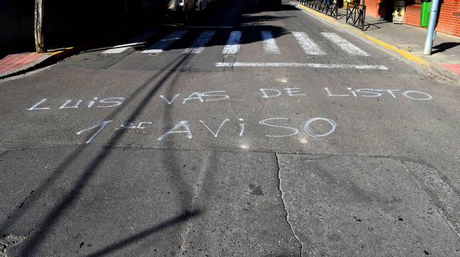 Actos vandálicos en el inicio de las no fiestas de Murchante.