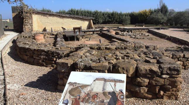 Yacimiento arqueológico Las Eretas, de Berbinzana.