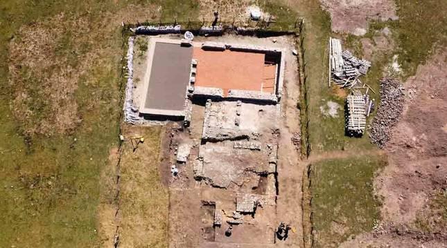 La zona arqueológica romana Zaldua, declarada bien de interés cultural