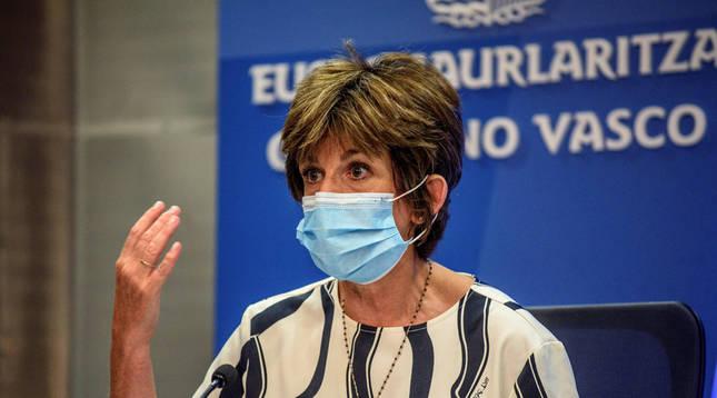 La consejera de Salud advierte de que Euskadi está ante