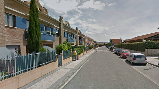 Calle Nuestra Señora de la Purificación en Berrioplano.