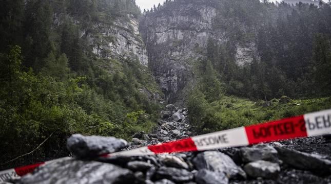 Las malas condiciones meteorológicas han dificultado estos días la búsqueda del desaparecido.