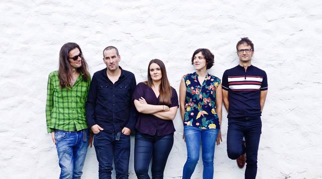 El grupo tolosarra Tenpora.
