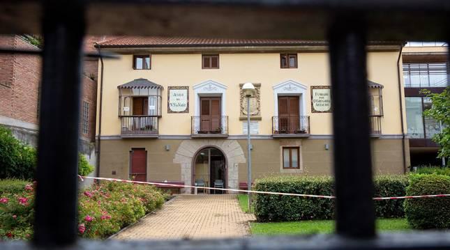 Foto de la residencia de ancianos 'Nuestra Señora del Valle' de Cenicero, que cuenta con un brote de COVID-19 con seis residentes contagiados, pero cuyo estado de salud no reviste gravedad.