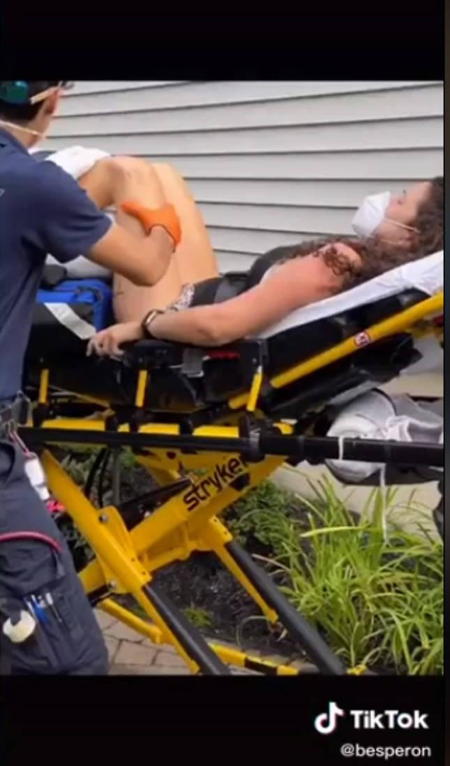 Imagen de una coreografía que acaba en el hospital.lib_bbbbbbb/TikTok
