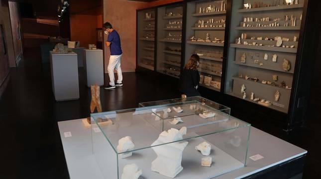 Foto de la colección permanente del Museo Jorge Oteiza permite apreciar la evolución artística del autor.