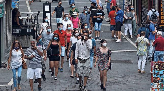 El uso de mascarillas, fundamental para evitar contagios.