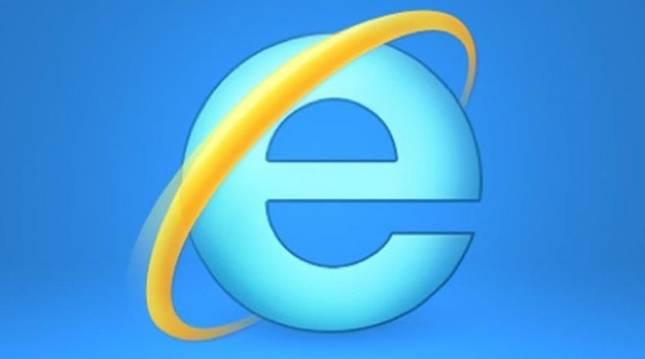 Logo oficial de Microsoft Internet Explorer