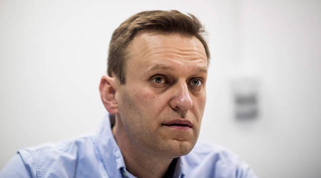 Imagen del opositor ruso Alexei Navalni.