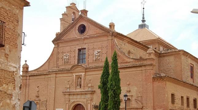 FOTO DE Fachada del Museo Arrese de Arte Sacro situado en la localidad de Corella.
