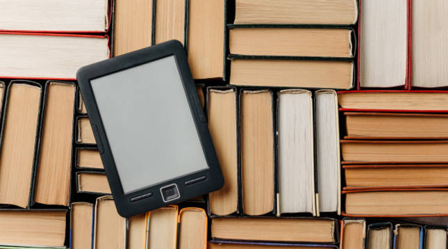 Imagen de un dispositivo electrónico de lectura de ebooks