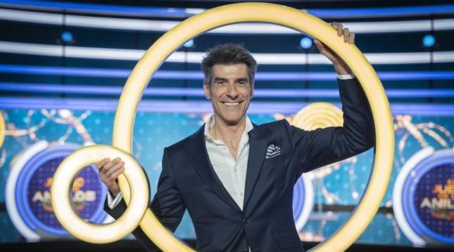 Jorge Fernández, en una imagen promocional de 'El juego de los anillos'