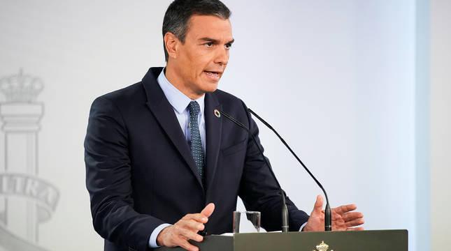 Sánchez ofrece 2.000 militares a las comunidades autónomas para el rastreo de contagios