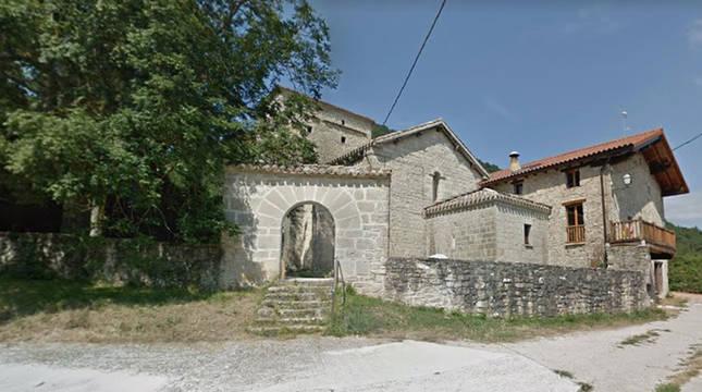 Parroquia de la localidad de Endériz.