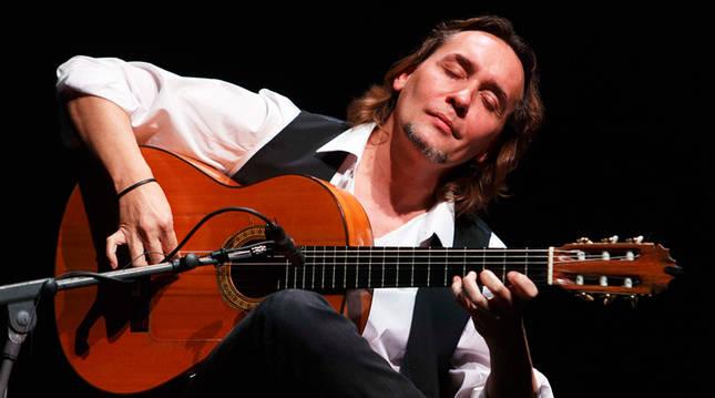 El guitarrista Vicente Amigo, en una actuación anterior.