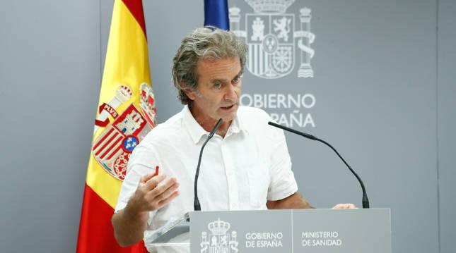 Rueda de prensa de Fernando Simón para informar de la evolución del Covid-19
