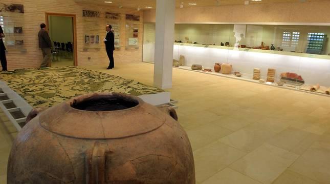 foto de El interior del Museo Arqueológico de Andelos, situado en la localidad de Mendigorría.