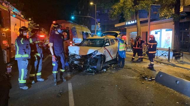 Un atropello múltiple deja un fallecido, dos heridos graves y cinco leves