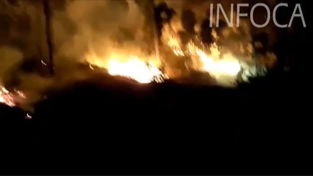 Vídeo del mayor incendio del verano ocurrido en Huelva