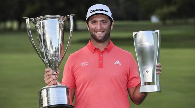 El golfista español Jon Rahm gana el BMW  Championship y recupera el número uno del mundo