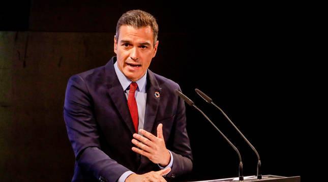 Sánchez llama a la unidad y pide desterrar la lucha partidista