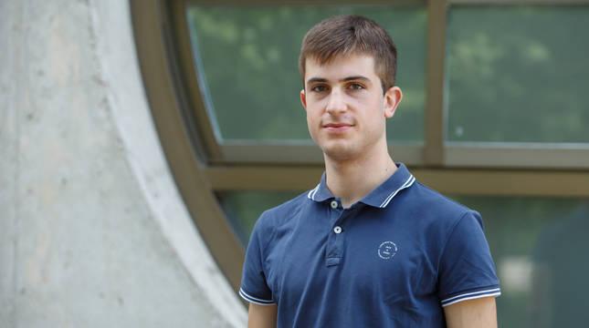El peraltés Javier Sanz Irisarri accede al primer curso en la UPNA con la nota más alta