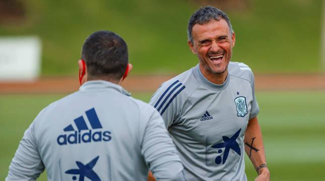Foto de Luis Enrique, seleccionador nacional de fútbol.