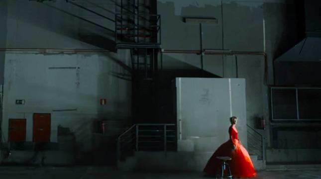 Fotograma del cortometraje 'La voz humana', de Almodóvar.