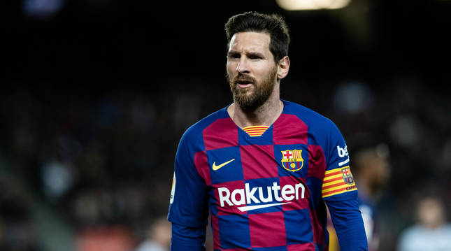 Foto de Lionel Messi.