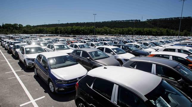Campa de expediciones de VW Navarra.