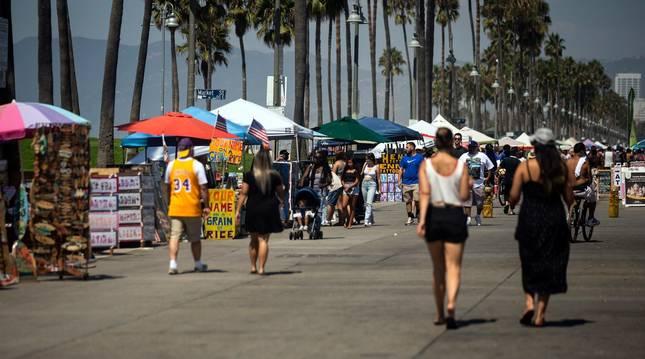 foto Los termómetros de California registran récord de temperaturas: 49,4 grados