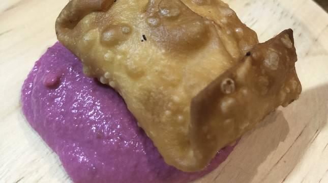 Estas empanadillas que te explotan en la boca son uno de los tres pinchos de concurso de hoy.