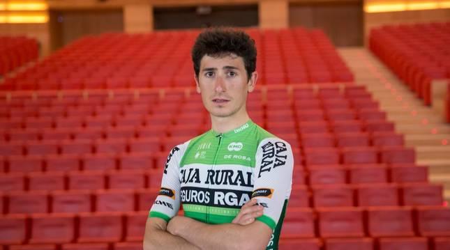 Foto del ciclista Julen Amézqueta.