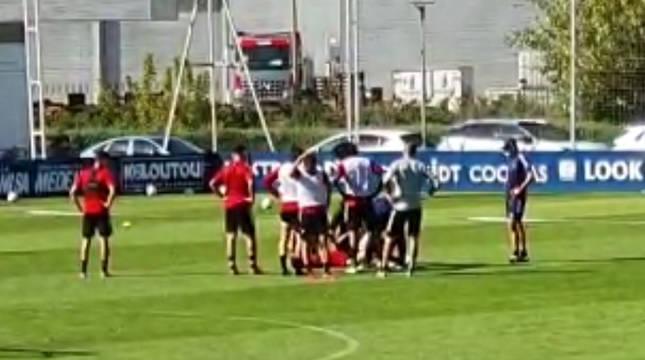 El Chimy Ávila se retira lesionado en Tajonar