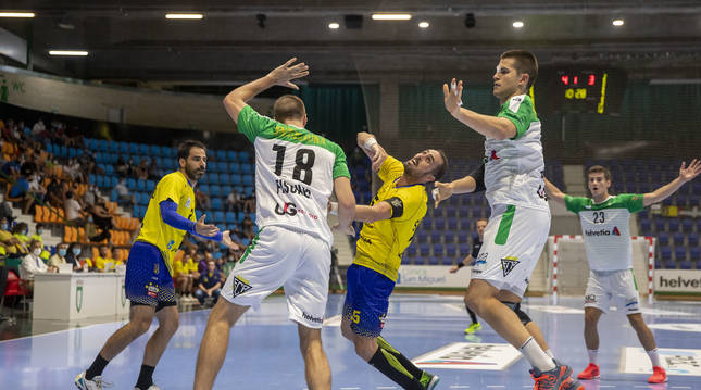 Anaitasuna cayó por un gol (26-27) frente a Bidasoa Irún.