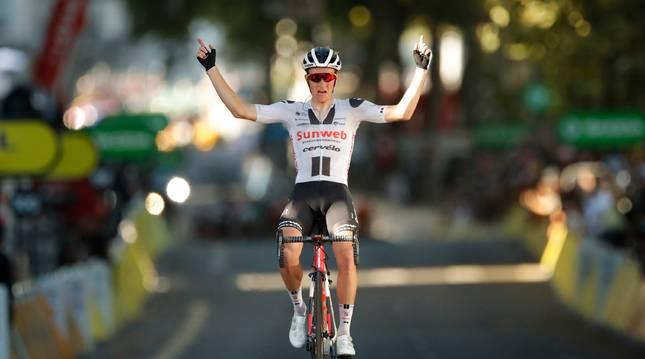 Kragh Andersen se ha adjudicado este sábado la decimocuarta etapa del Tour de Francia.