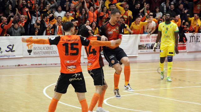 Fotografía correspondiente al partido del Aspil Jumpers de temporada 2019-2020 ante el Jaén Trípodi.