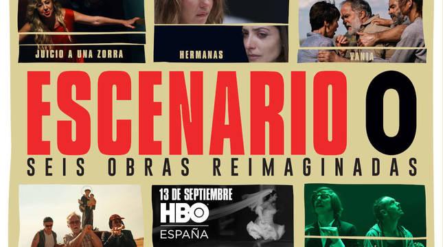 HBO fusiona teatro, cine y televisión en 'Escenario 0'