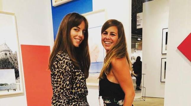 Blanca Pascual y Clara Andrade, fundadoras de La Pera Projects.
