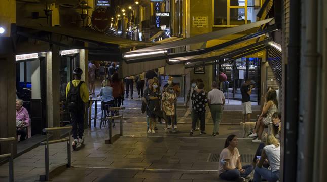 Foto de la calle San Nicolás de Pamplona.
