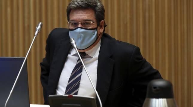 Foto de José Luis Escrivá, ministro de Inclusión, Seguridad Social y Migraciones.