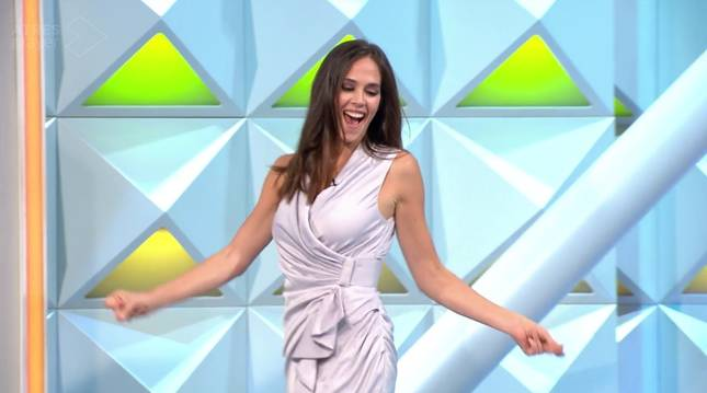 Barbara Oteiza, en 'La ruleta'.