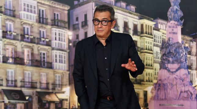 Foto de Andreu Buenafuente, en la edición del Festival de Televisión de Vitoria 2020.