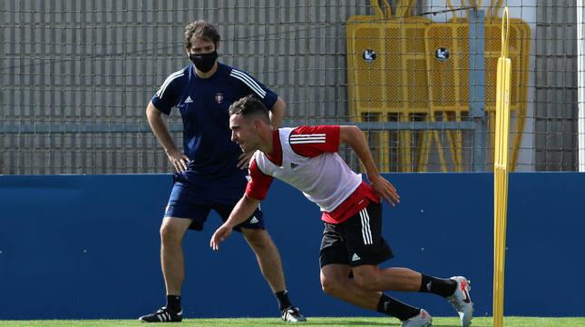 El Castellón pregunta por Unai García, pero Osasuna no contempla su salida