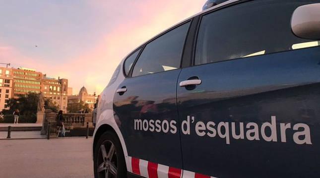 Foto de un vehículo de los Mossos.