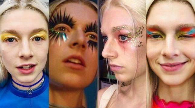 La estética de la serie Euphoria se ha convertido en todo un icono de las nuevas tendencias de maquillaje.